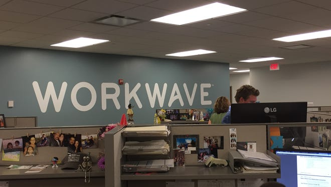 WorkWave is moving from this office in Nepute to Bell Works, the Holmdel building that once housed Bell Labs.
