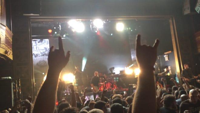 A concert scene