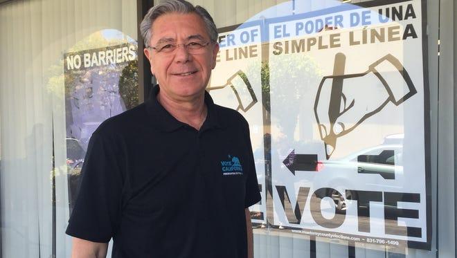 Monterey County Registrar Claudio Valenzuela