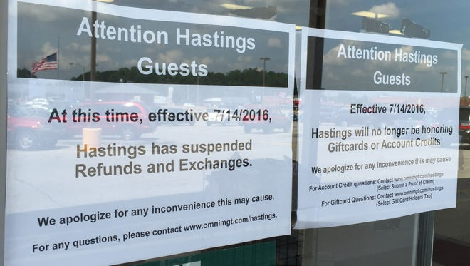 The Hastings store Thursday, July 21, 2016, in Richmond.