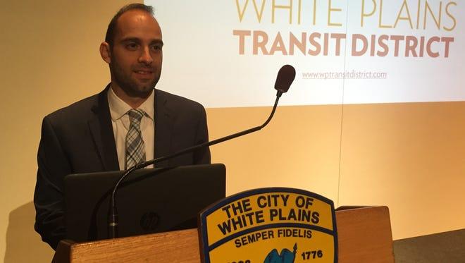 White Plains Planning Commissioner Chris Gomez