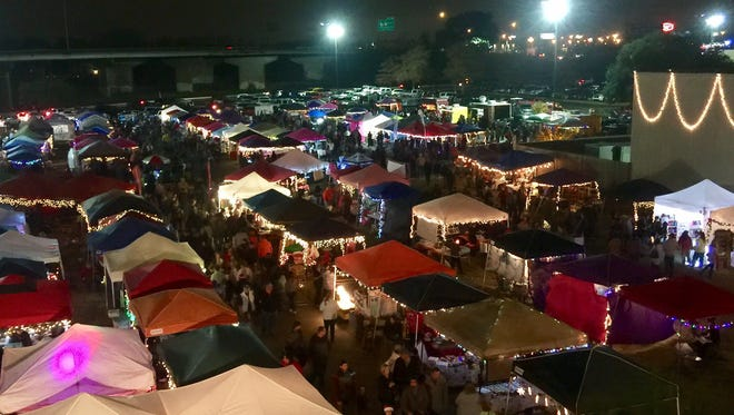 The first Bossier Night Market was held in December.
