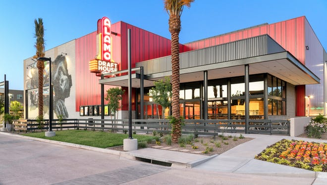 The exterior of Alamo Drafthouse Cinema in Tempe.