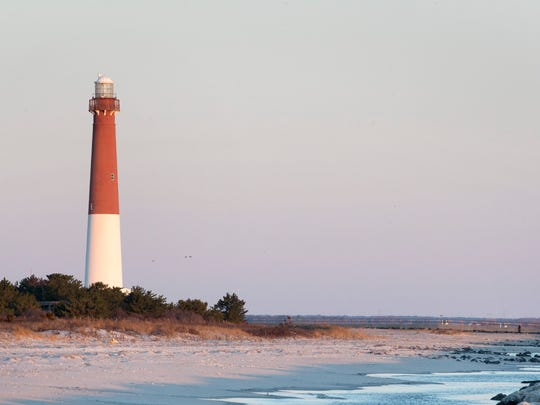 Barnegat Lighthouse Park was created in 1957. Its main attraction is the lighthouse, which you can climb to the lightkeeper's catwalk. People also come to the park to walk, birdwatch, learn about maritime history, and fish.
