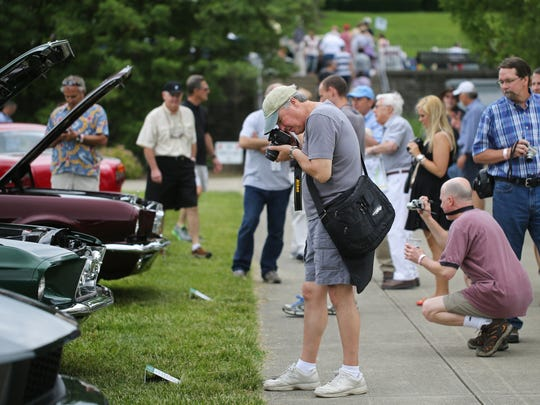 This year's Concours d'Elegance will be held June 11 in Ault Park.
