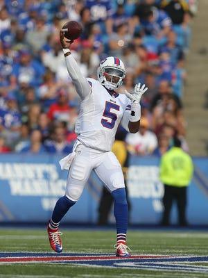 Bills quarterback Tyrod Taylor.