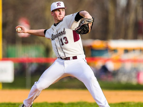 Senior Parker Scott, shown in a 2017 file photo, is one of the top returning pitchers for the Ridgewood baseball team.