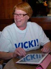 Vicki Barnett.