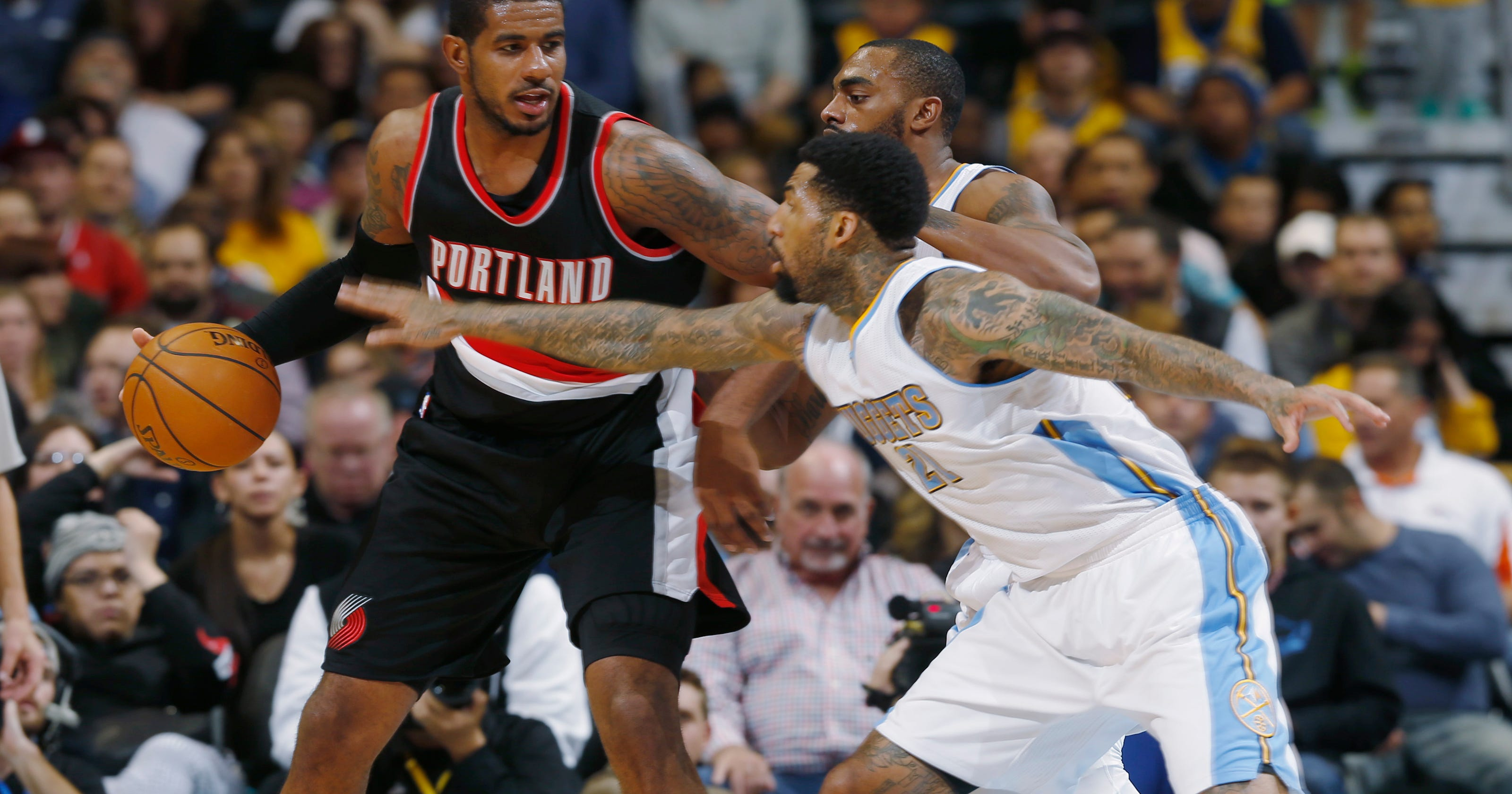 Blazers Rally For 105 103 Win Over Nuggets