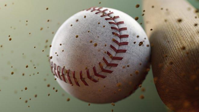 Baseball game gets postponed.