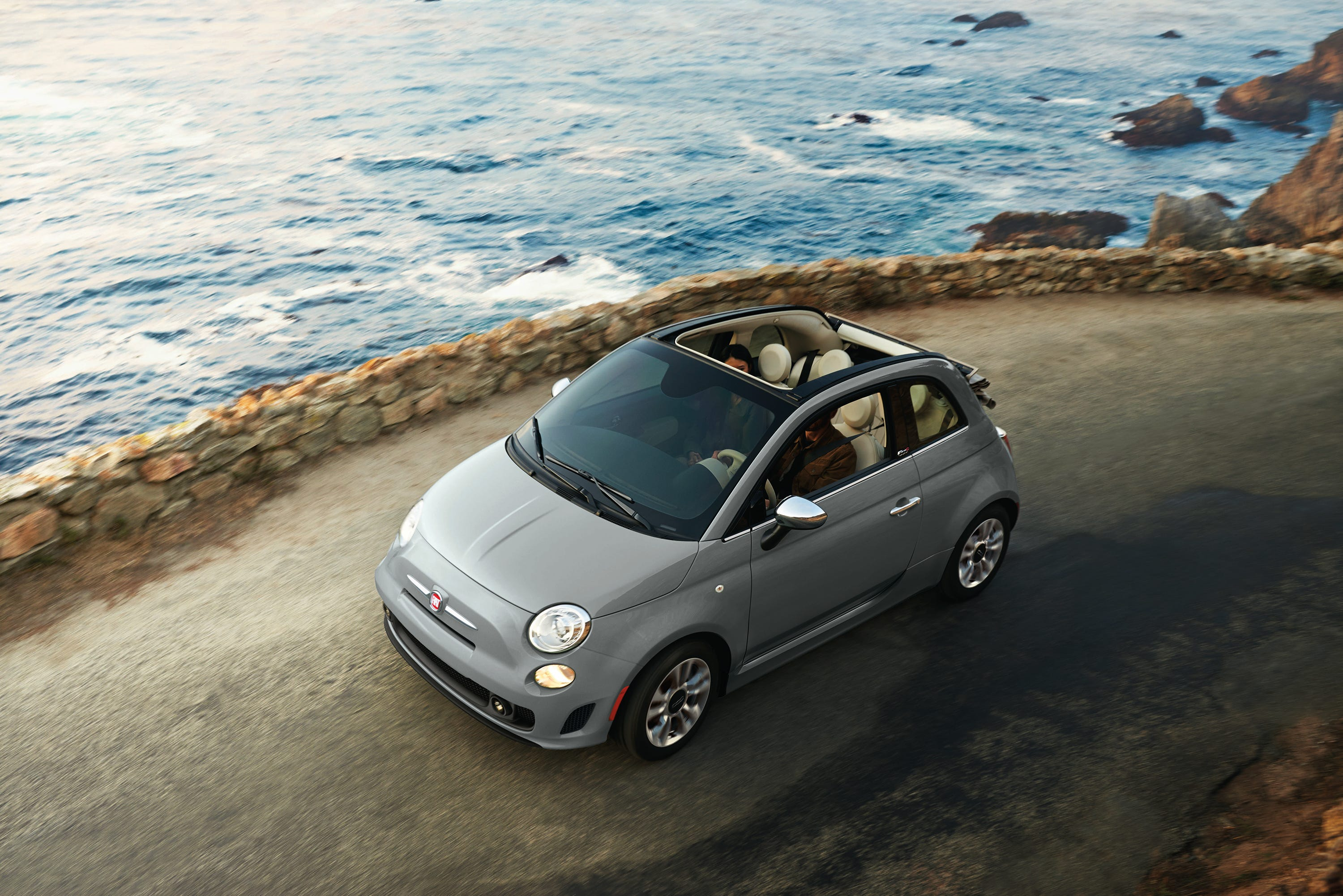 Awful Fiat Driver in Italy Turns Road Rage Into Happiness Video photo