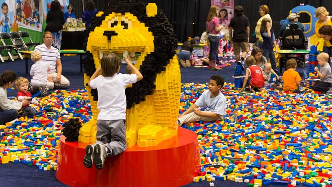 The Lego Creativity Tour is heading to the Iowa Events Center Sept. 18-20.