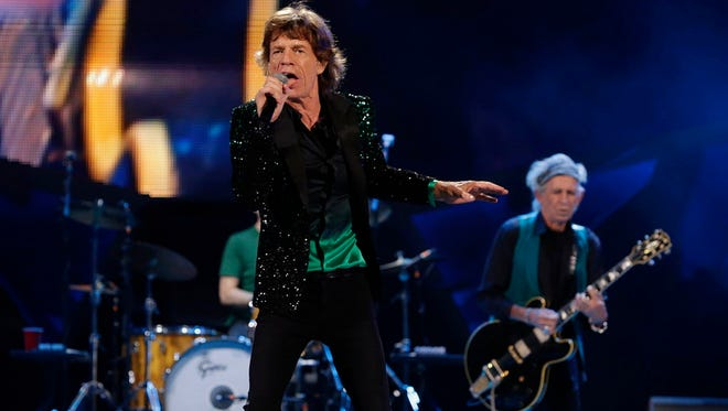 """The Rolling Stones' new blues cover album """"Blue & Lonesome"""" is its first full-length in 11 years."""