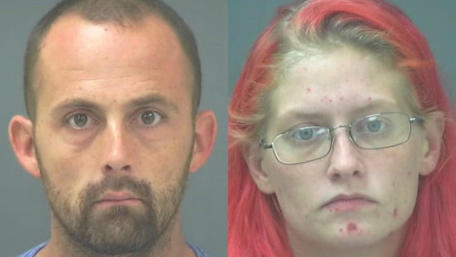 Kyle Joseph Cooley, 27, and Amber Nicole Cooley, 24.