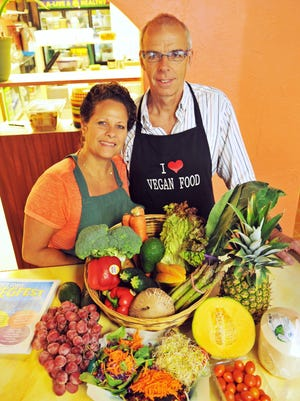 Kim Smith, co-owner of A-Live & Healthy Café with Rich Williams, is an organizer of the inaugural VegFest to be held in Cocoa Village on Oct. 11.