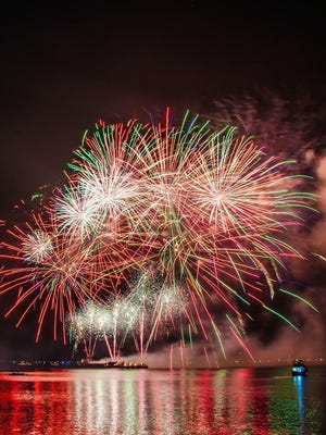 While the Fourth of July fireworks are not canceled, city officials are strongly urging people to stay safe this weekend by keeping a 6-foot distance from others, wearing a mask, respecting private property, remaining in your own vehicle during the fireworks or staying home for maximum safety.