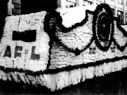 A float representing unions affiliated with the American