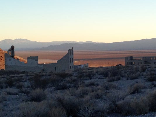 Travel-Trip-Southwest Ghost Towns