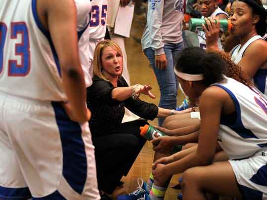 Pine Forest High Lady Eagles head basketball coach Chris Godwin will lead her troops into battle against Pensacola High for the fourth time tonight.