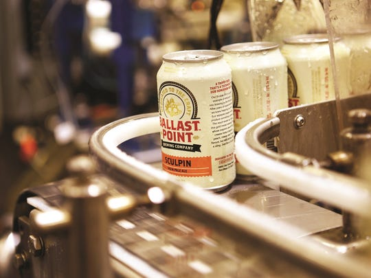 Ballast Point Brewing & Spirits has four production facilities in the San Diego, California area.