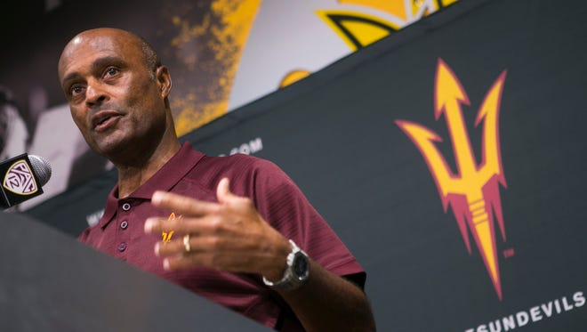 Ray Anderson, ASU Vice President of University Athletics and Athletic Director.