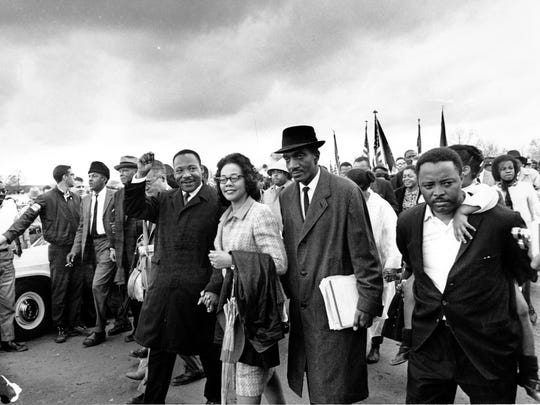 AP The Rev. Martin Luther King Jr., and his wife, Coretta