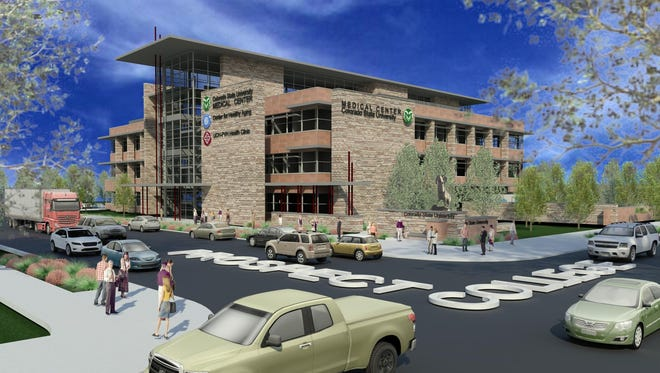 CSU to build medical center as gateway to campus