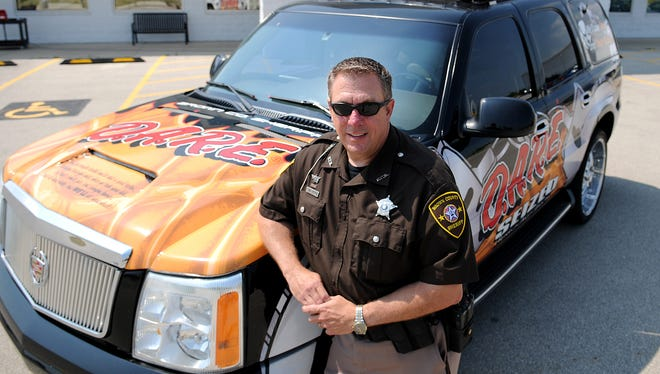 Brown County Sheriff's Deputy Kevin Vanden Heuvel had been with the DARE program since 1995.