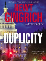 """Duplicity:  A Washington Thriller"" by Newt Gingrich"