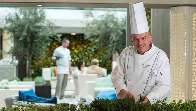 As part of a $17M makeover, the Crystal Serenity will feature an herb garden that will be used for the ship's cuisine.