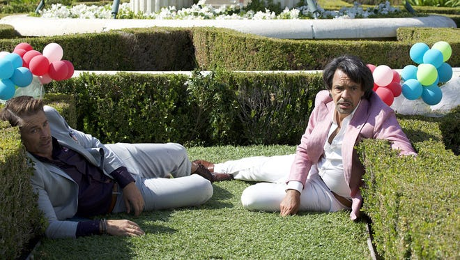 "Eugenio Derbez (right, with Rob Lowe) stars in ""How to Be a Latin Lover."" The movie, which showed at the inaugural Marcus CineLatino Milwaukee Film Festival, is back at Marcus South Shore Cinema Sept. 29."