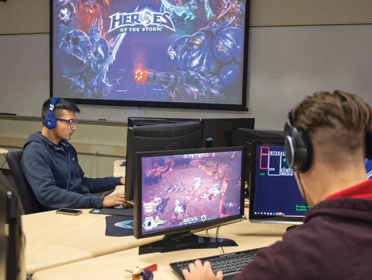 Students in RIT's School of Interactive Games and Media