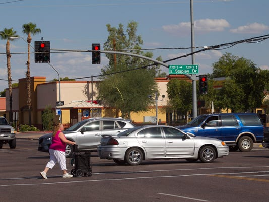 Stapley Drive and Southern Avenue in Mesa
