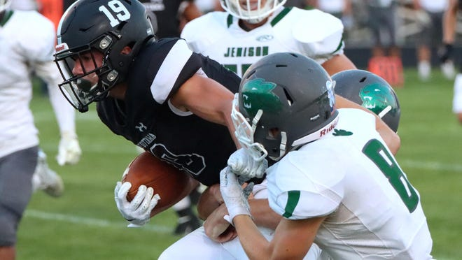 The West Ottawa football team lost to Rockford in the playoffs on Saturday.