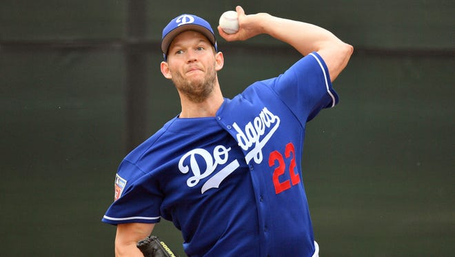 Clayton Kershaw led the staff with 27 starts despite missing five weeks with a back injury.