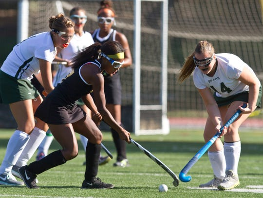 Piscataway's Dominique Nelson is the Home News Tribune's Field Hockey Player of the Year