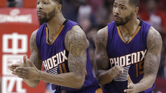 Markieff (left) and Marcus Morris.