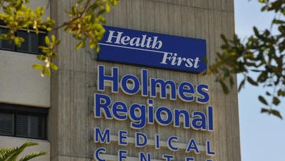 Hospitals have been busy in recent weeks, with Health First's Holmes Regional Medical Center reaching about 90 percent capacity a few weeks ago.