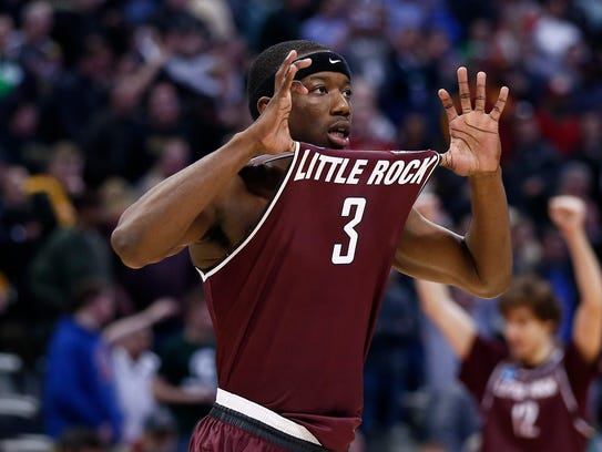 Josh Hagins poured in 31 points for Arkansas-Little