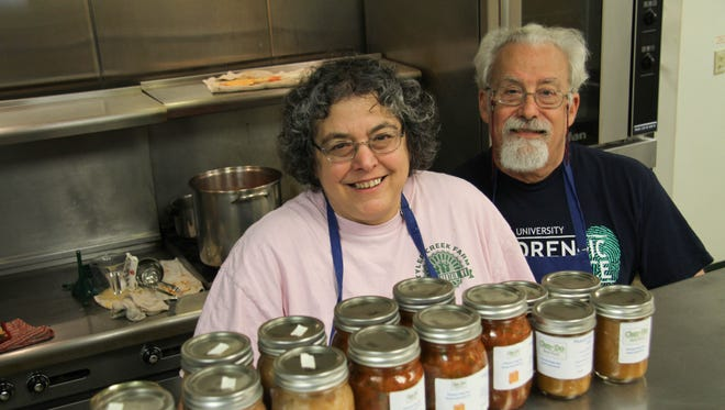 Beth Rankin is the woman behind Can-Do Real Food. Her husband, Graham, helps with the business.