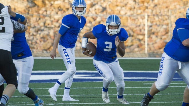 The Dixie Flyers are looking to win their third state title in four years as they take on Tooele in a semifinal game at Rice-Eccles Stadium on Friday night.