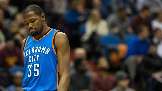 Kevin Durant is leaving Oklahoma City.