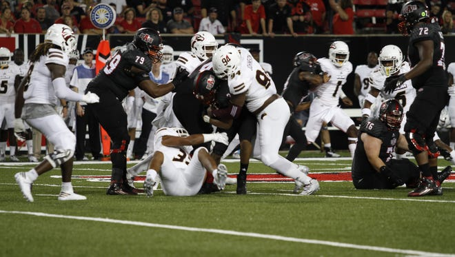 ULM allowed over 300 yards passing to Arkansas State in a 51-10 loss on Saturday night in Jonesboro.