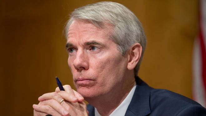 Sen. Rob Portman, R-Ohio, attends a hearing on Capitol Hill on June 23, 2016.