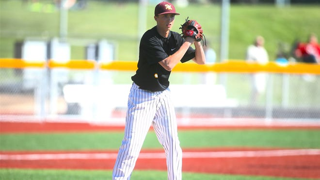 Former South Kitsap pitcher Lucas Knowles started for the Wolves in the 2015 Class 4A state title game. Knowles missed his senior season in 2016 after undergoing Tommy John surgery.