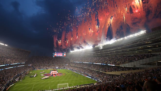 Chicago's Soldier Field was also the host site for the 2017 MLS All-Star Game.
