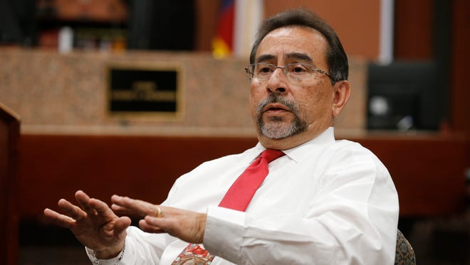 Judge Robert S. Anchondo discusses the El Paso DWI Drug Court Intervention and Treatment Program he presides over.