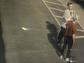 Police suspect these two people served as lookouts