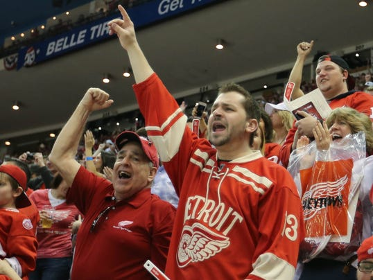 Detroit Red Wings Arena >> Detroit Red Wings say farewell to Joe Louis Arena, close a chapter