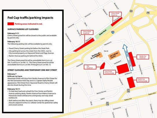 Parking options are available for people planning to